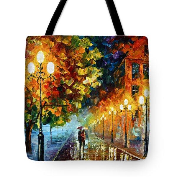 Romantic Aura  Tote Bag by Leonid Afremov