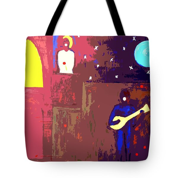 Romeo And Juliet Tote Bag by Patrick J Murphy