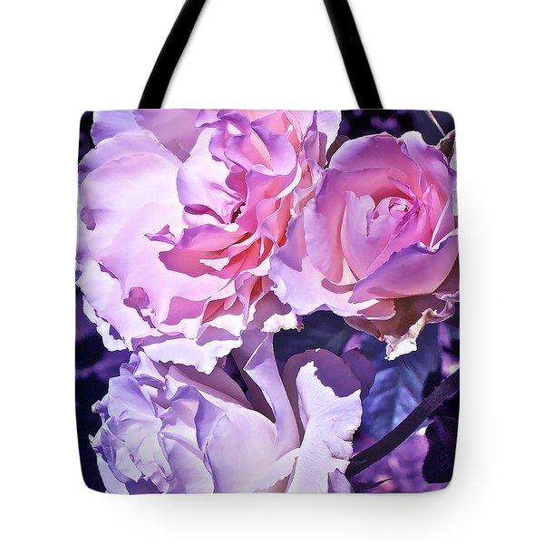 Rose 60 Tote Bag by Pamela Cooper