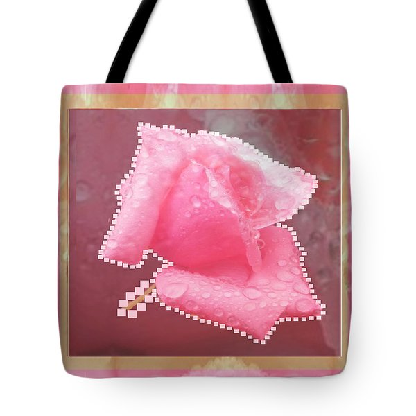 Rose Flower Petal Art Texture N Color Tones Navinjoshi  Rights Managed Images Graphic Design Is A St Tote Bag