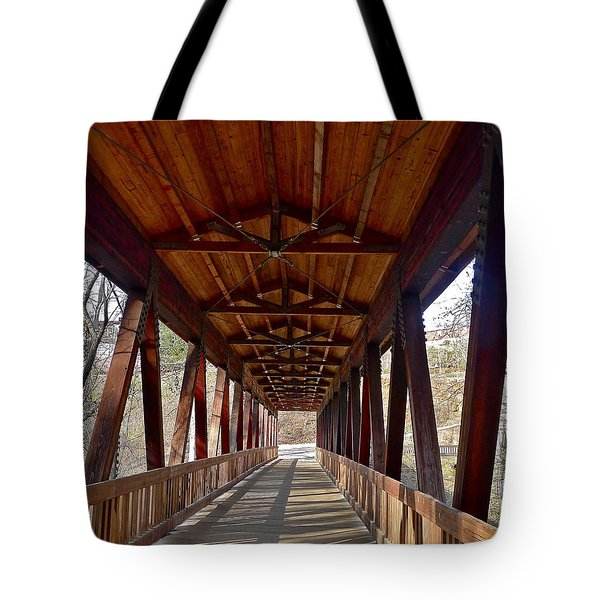 Roswell Bridge Tote Bag