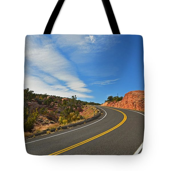 Route 12 - Utah Tote Bag