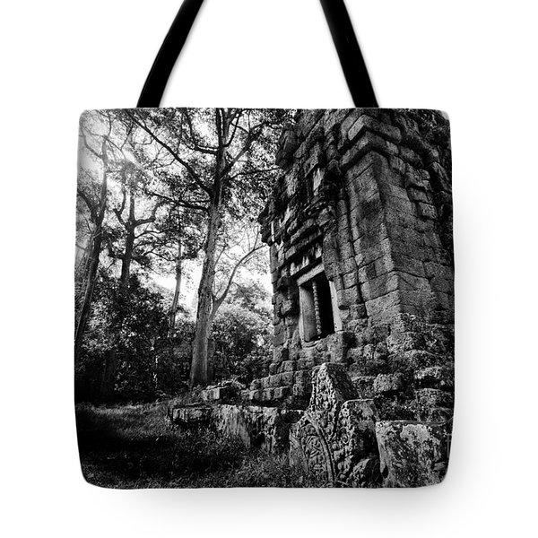 Ruin At Angkor Wat Tote Bag
