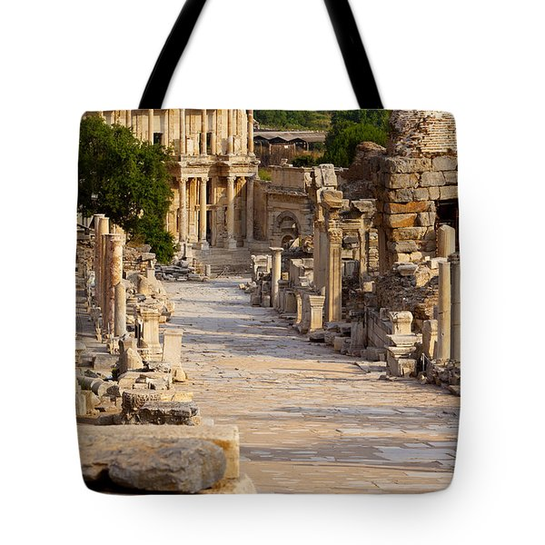 Ruins Of Ephesus Tote Bag