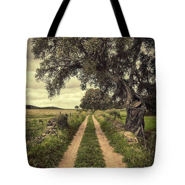 Rural Trail Tote Bag