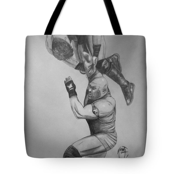 Ryback Tote Bag by Justin Moore
