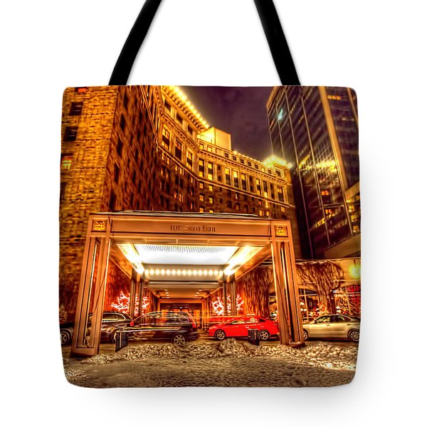 Saint Paul Hotel Tote Bag by Amanda Stadther