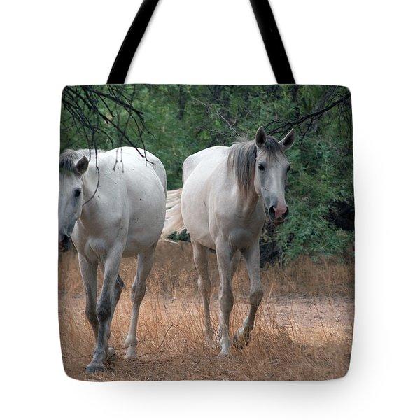 Salt River Wild Horse Tote Bag