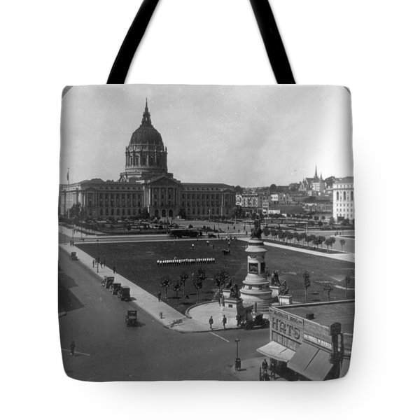 Tote Bag featuring the photograph San Francisco City Hall by Granger