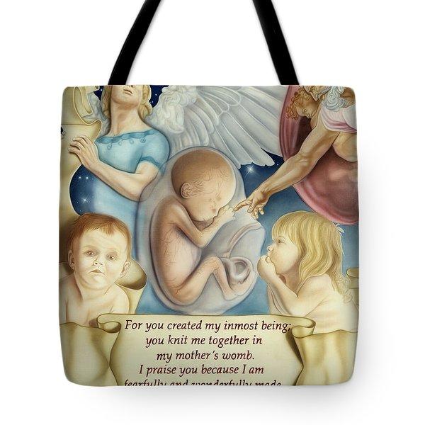 Sanctity Of Life Tote Bag