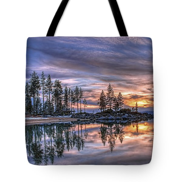 Waning Winter Tote Bag