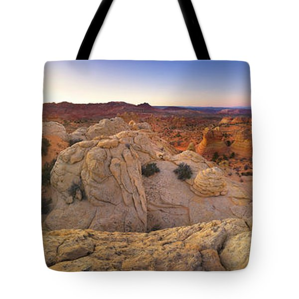 Sandstone Formations Coyote Buttes Tote Bag