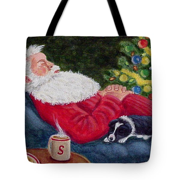 Santa And Breagh Tote Bag