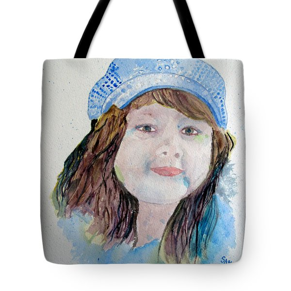 Sarah Tote Bag by Sandy McIntire