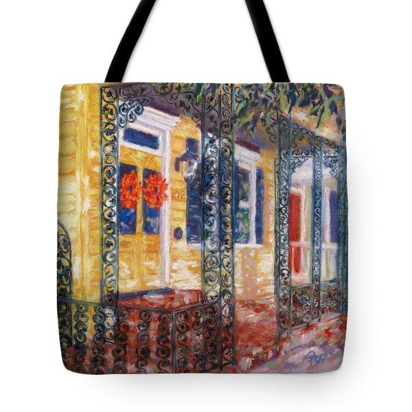 Savannah Autumn Tote Bag