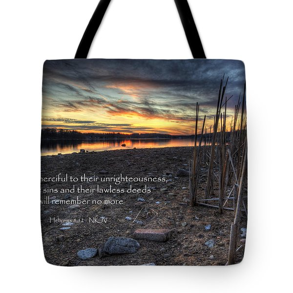 Scripture Photo Tote Bag