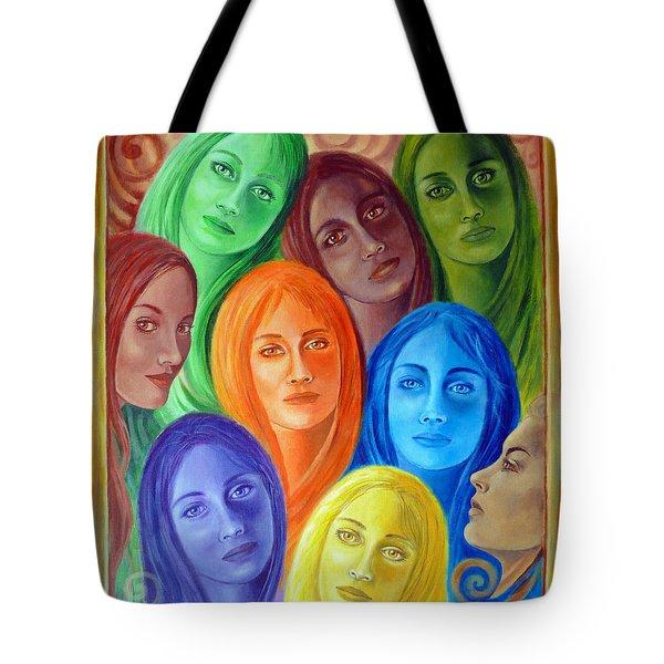 Serene Sisters Tote Bag