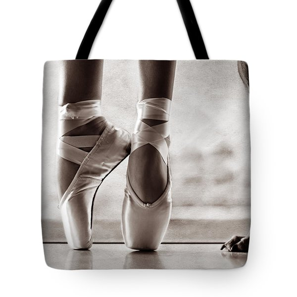 Shall We Dance Tote Bag by Laura Fasulo