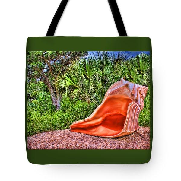 Shell Attack Tote Bag