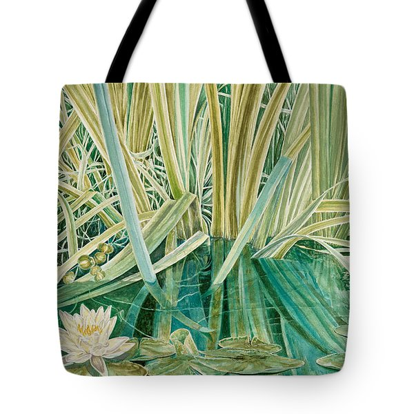 Silent Contempt Tote Bag by John Wilson
