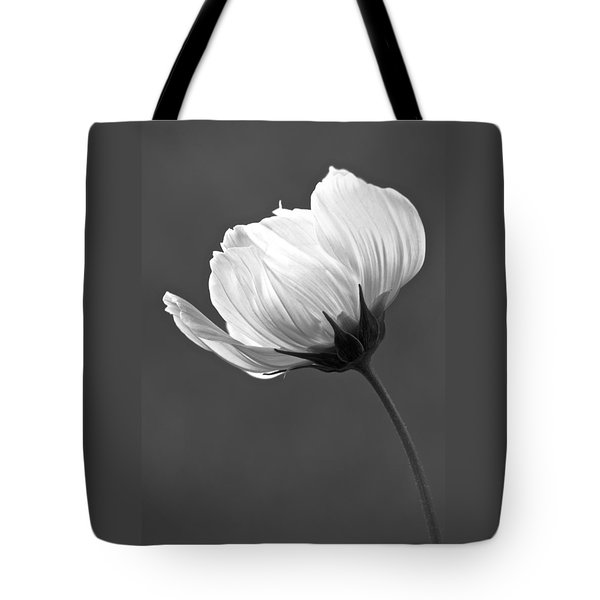 Simply Beautiful In Black And White Tote Bag by Penny Meyers