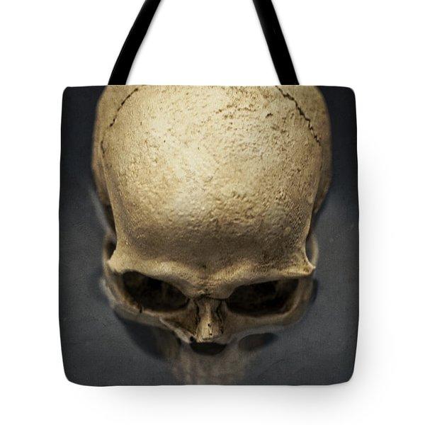 Skull  Tote Bag by Edward Fielding