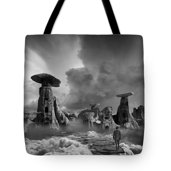 Tote Bag featuring the photograph Sky City Casino by Keith Kapple