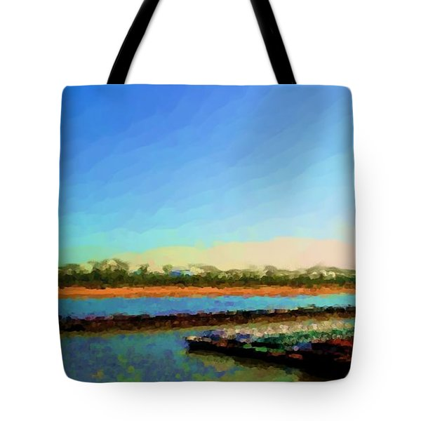 Tote Bag featuring the photograph Slow And Steady by Kelly Awad