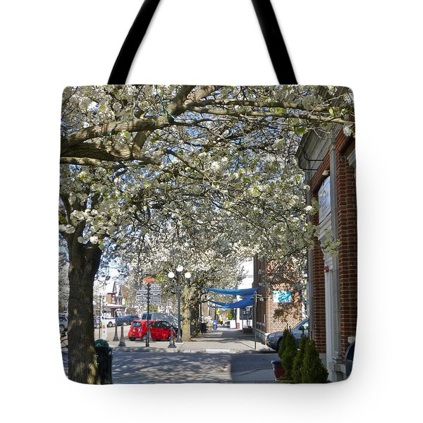 Small Town Saturday 2 Tote Bag