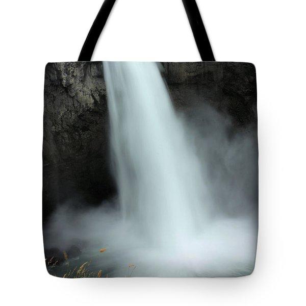 Snoqualmie Falls Tote Bag by Kristin Elmquist
