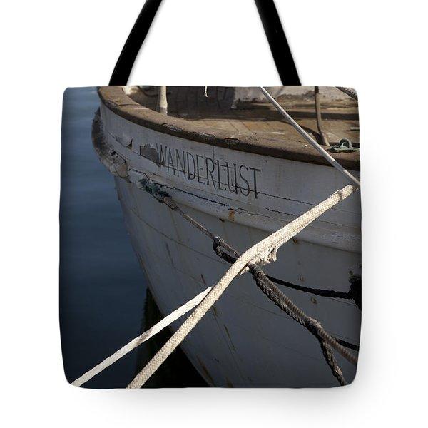 S.o. Wanderlust Tote Bag by Amanda Barcon