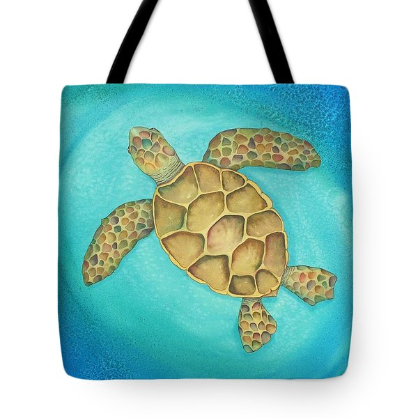 Solo Swimmer Tote Bag