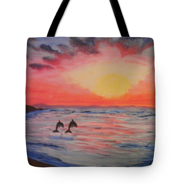 2 Souls Reunited Tote Bag by Thomasina Durkay