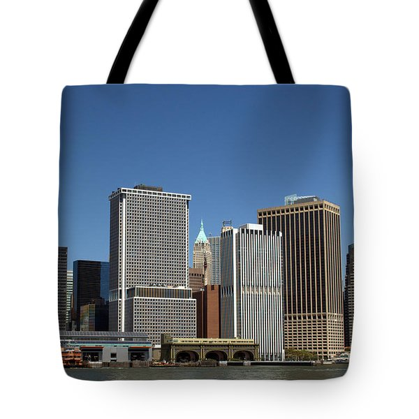 Tote Bag featuring the photograph South Ferry by Jim Poulos
