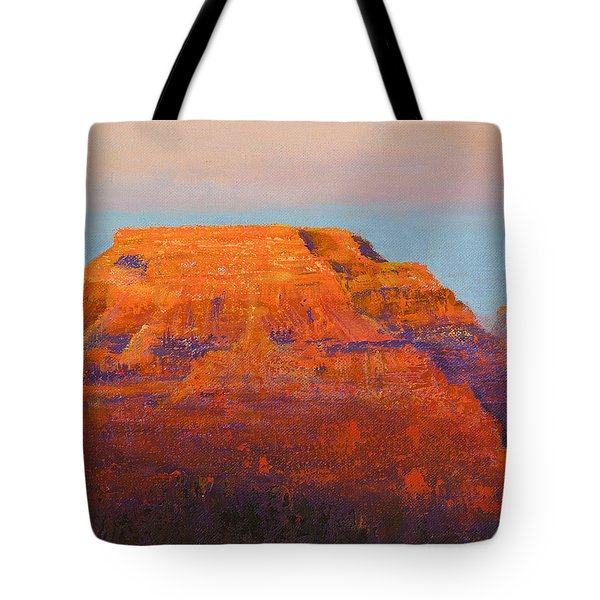 South Rim Sunset Tote Bag by Margaret Bobb