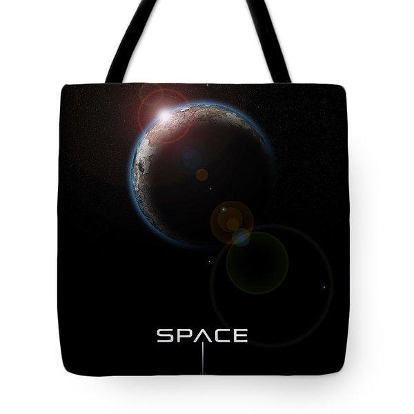 Space Tote Bag by Phil Perkins
