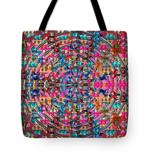 Sparkle  Chakra Format Art  Navinjoshi  Rights Managed Images Graphic Design Is A Strategic Art Mean Tote Bag