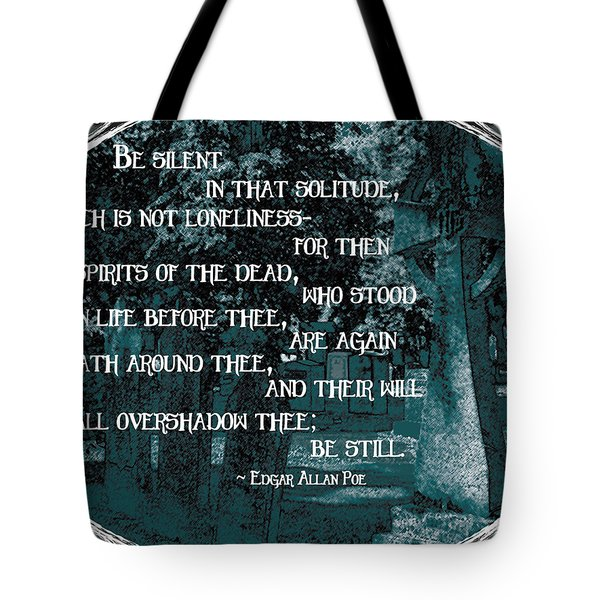 Spirits Of The Dead Tote Bag