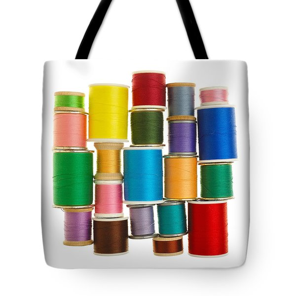 Spools Of Thread Tote Bag