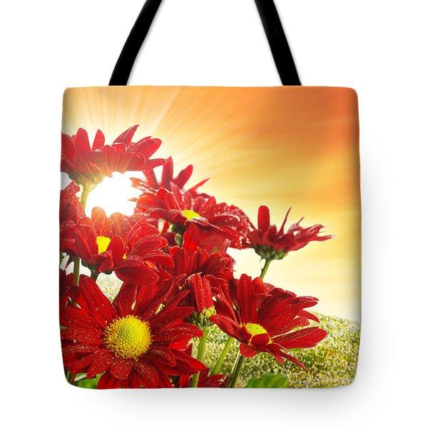 Spring Blossom Tote Bag by Carlos Caetano