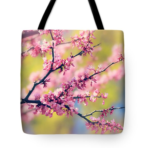Spring Tote Bag by Elizabeth Budd