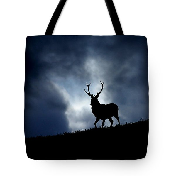 Stag Silhouette Tote Bag