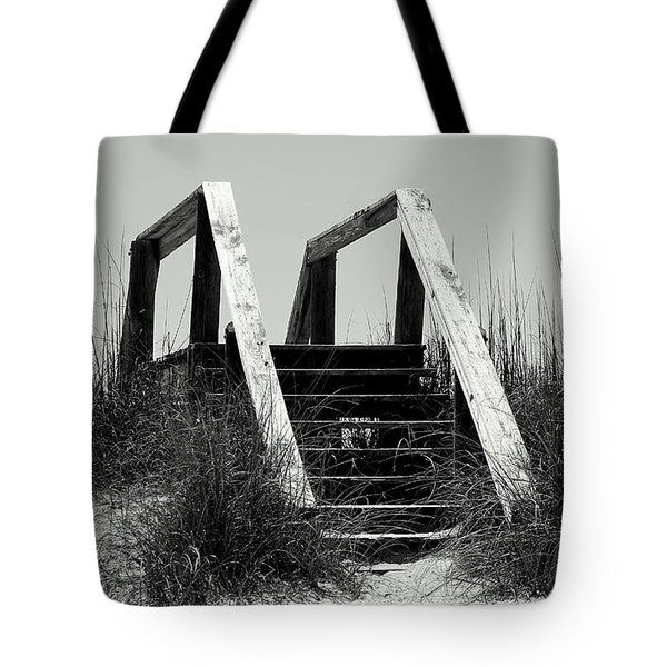 Stairway To Heaven Tote Bag by Debra Forand
