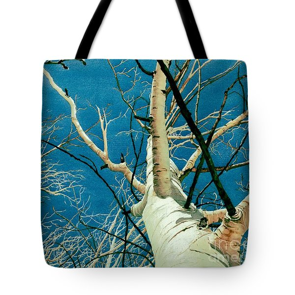 Tote Bag featuring the painting Standing Ovation 2 by Barbara Jewell