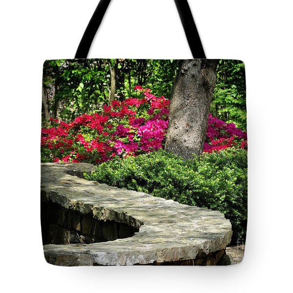 Tote Bag featuring the photograph Stay On The Path by Nava Thompson