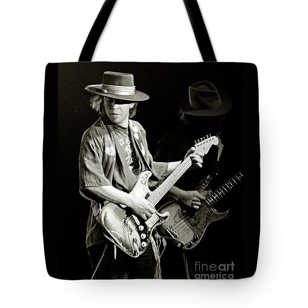 Stevie Ray Vaughan 1984 Tote Bag