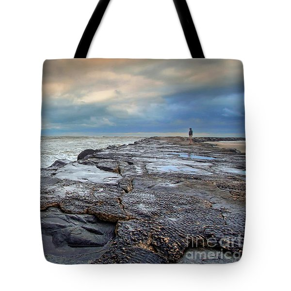 Storm Blowing Out Tote Bag