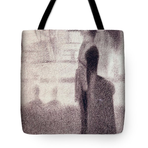 Study For Sunday Afternoon On The Island Of La Grande Jatte Tote Bag