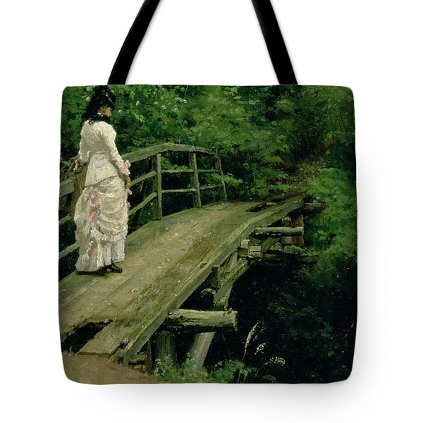 Summer Landscape Tote Bag by Ilya Efimovich Repin