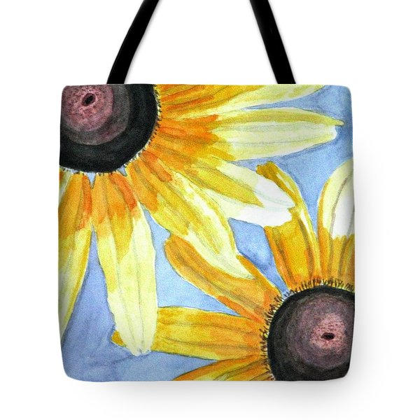 Summer Susans Tote Bag by Angela Davies